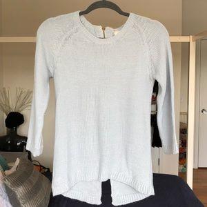 Zara Sweater with Zipper Back